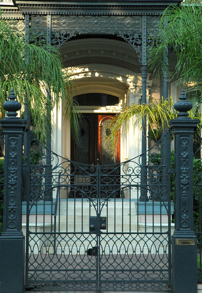 Gate at a House